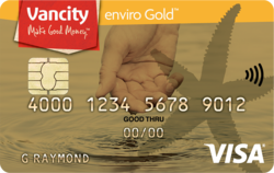 enviro Gold Visa card