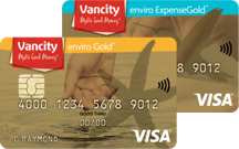 enviro Gold Visa and enviro ExpenseGold Visa cards