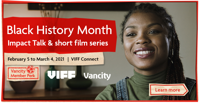 Black History Month - Impact Talk and short film series