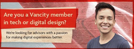 Are you a Vancity member in tech or digital design?