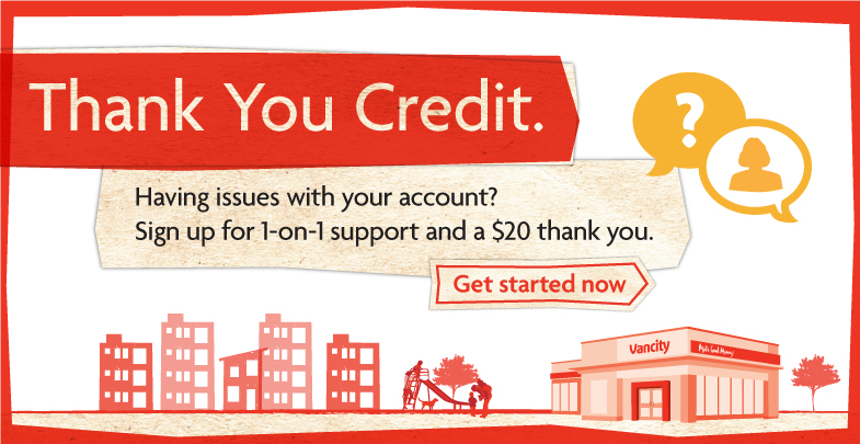 Having issues with your account? Sign up for 1-on-1 support and get a $20 thank you.