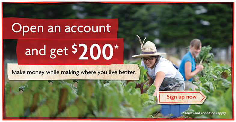 Open an account and get $200