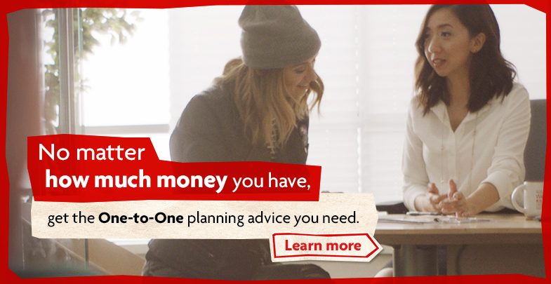 Get the one to one planning advice you need.