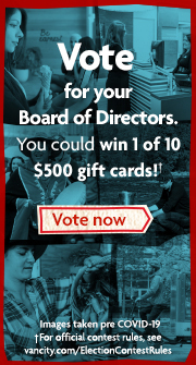 Vote now for your Board of Directors
