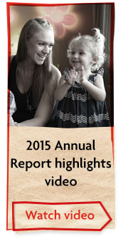 2015 Annual Report highlights video