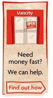 Need money fast? We can help.