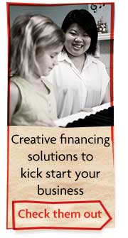 Creative financing solutions to kick start your business