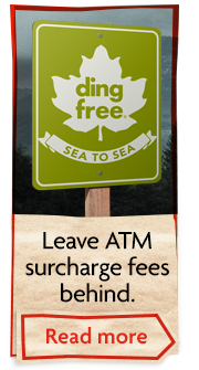 Ding Free: Leave ATM surcharge fees behind
