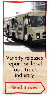 Vancity releases report on local food truck industry. Read it now.