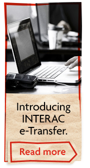 Introducing INTERAC e-Transfer