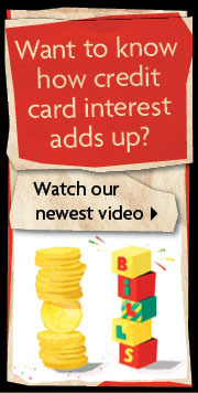 Credit Card interest video