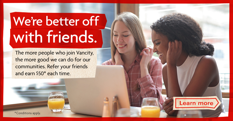 Refer a friend and get $50
