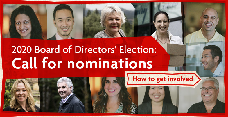 2020 Board of Director's Election: Call for nominations